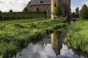 Assumburg castle in Heemskerk