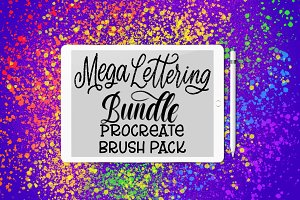35 Procreate Brushes Mega Bundle