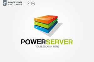 Power Server Logo