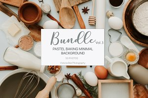Pastel Baking Bundle Vol.3