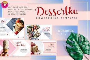 Dessertku - Food Powerpoint Template