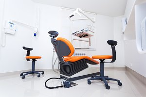 Modern dental room