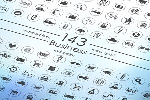 143 BUSINESS icons
