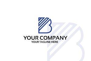 B - Logo template