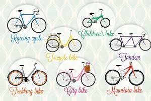 Bike Vector Set