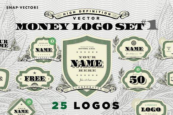Vector Logo Money Set #1