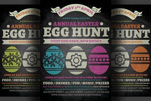 Easter Egg Hunt Flyer Template v2