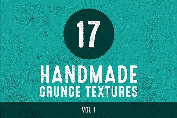 Handmade Grunge Textures - Vol 1