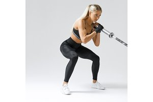 Fitness woman workout