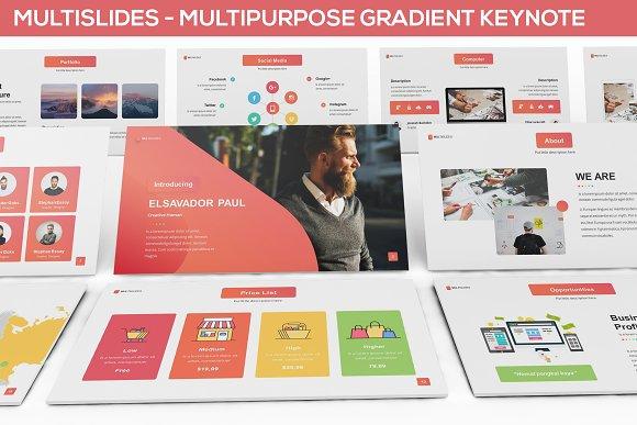 MultiSlides Multipurpose Gradient