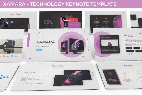 XAMARA Technology Keynote Template