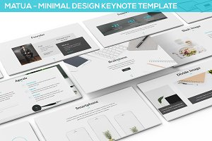 Matua - Minimal Design Keynote