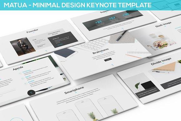 Matua Minimal Design Keynote