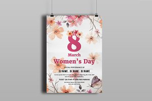 Women's Day Flyer -V780