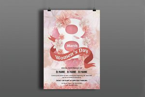 Women's Day Flyer -V781