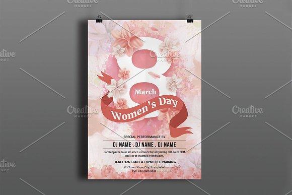 Women's Day Flyer V781