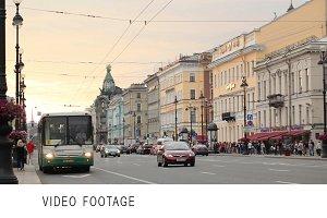 St. Petersburg, Nevsky Avenue