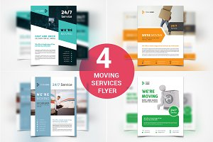 Moving Services Flyers