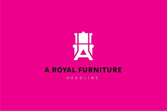 A Royal Furniture Logo