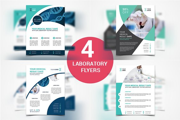 4 Laboratory Flyers