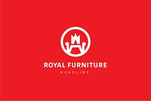 Royal furniture logo.