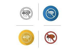 Stop fleas icon