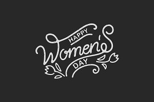 Women's Day Hand Lettering