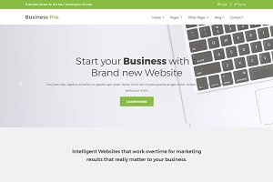 BusinessPro - Responsive WP Theme