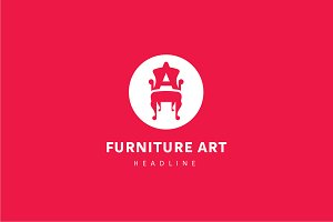 Furniture art logo.