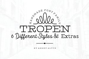 Tropen Font Family-50%off