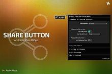Share Button - Adobe Muse Widget