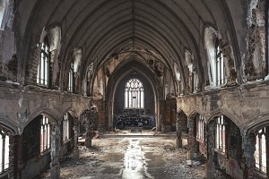Abandoned Church Sanctuary
