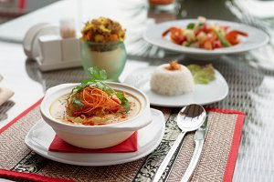 Spicy curry dish