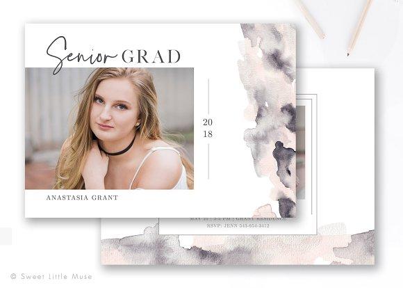 Senior Graduation Announcement