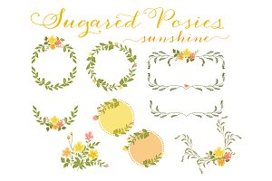 Floral Wreaths & Laurels