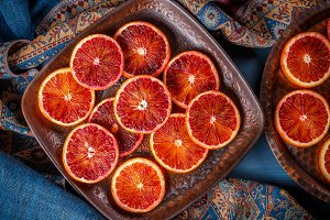 Red blood orange