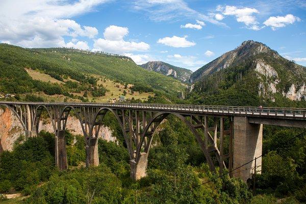 big bridge in Montenegro