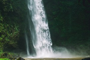 Amazing Nungnung waterfall, Bali, Indonesia