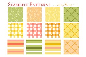 Seamless Patterns - Web Tiles
