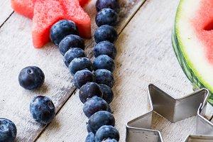 Red White & Blue Summer Fruit