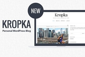 Kropka-Personal WordPress Blog Theme