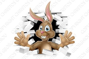 Easter Bunny Rabbit Cartoon Character
