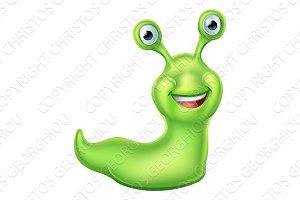 Slug Cartoon Character