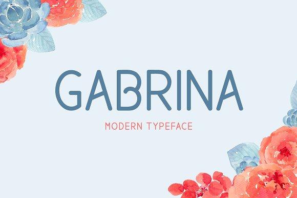 Gabrina Typeface