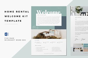 Home Rental Kit Template – Word Doc