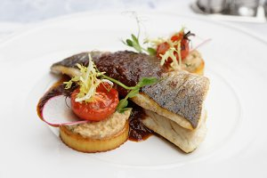 Sea bass fillet