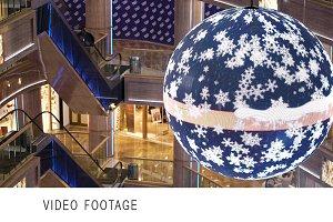 Digital Christmas ball.