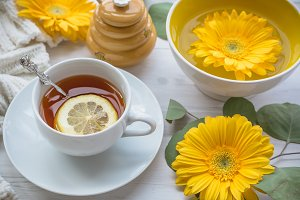 Herbal Tea w/Lemon and Honey