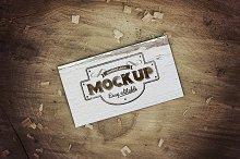 Sale - Business Card Mockup