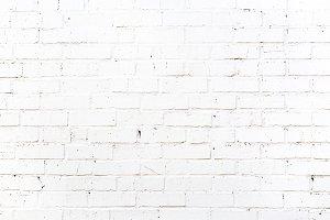 White Brick Wall Extra Large